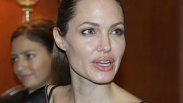 Viele Türken wollen Leber für Angelina Jolie spenden (Bild: AP)