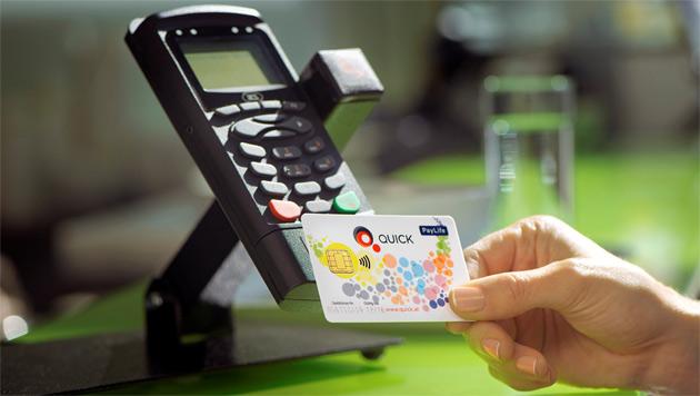 Bezahlen per NFC: Verbreitung weit, Nutzung gering (Bild: PayLife)