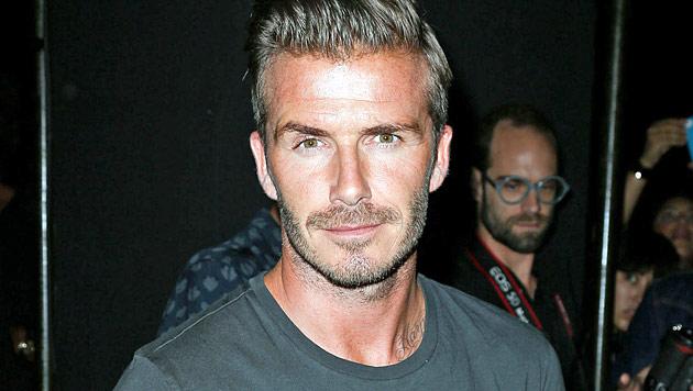 David Beckham ekelt sich vor fremden Toiletten (Bild: dapd)