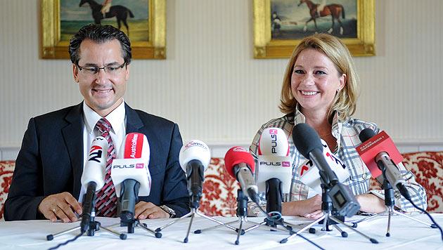 Team Stronach: Von Minister-Tochter bis SPÖ-Rohrspatz (Bild: APA/HERBERT NEUBAUER)