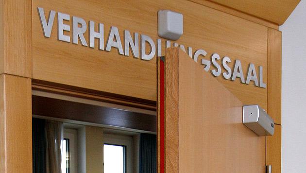 Fünffacher Bankräuber zu 5 Jahren Haft verurteilt (Bild: APA/GEORG HOCHMUTH)