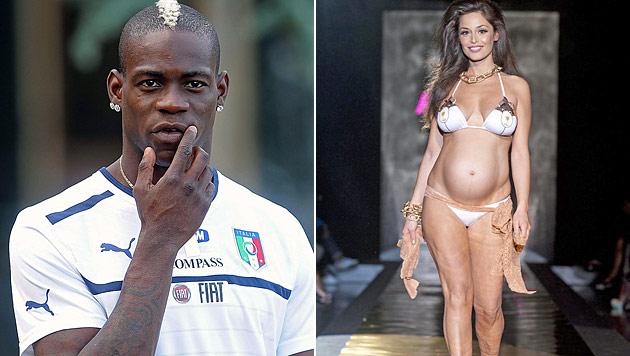 """Fußballer Balotelli: """"Will es wieder mit Raffaella probieren"""" (Bild: EPA)"""