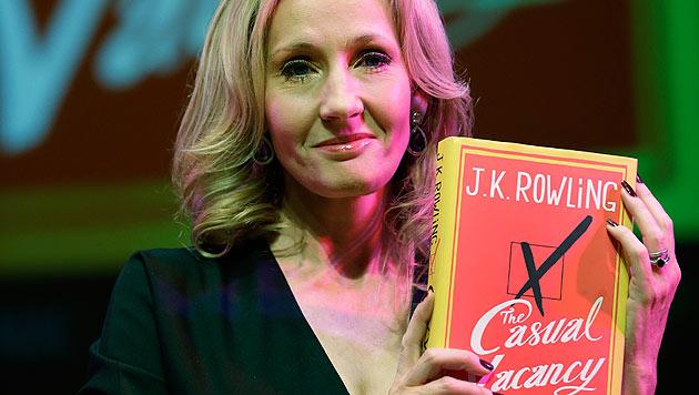J.K. Rowling stellt neues Buch in London vor (Bild: dapd)