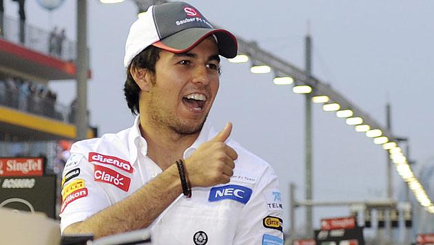 Mexikaner Perez ersetzt Hamilton bei McLaren (Bild: EPA)