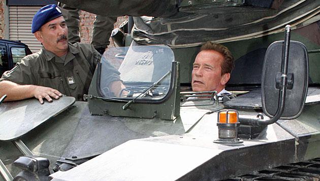 US-Sender zeigte starke Doku über Arnies Panzer-Zeit (Bild: Christian Jauschowetz)