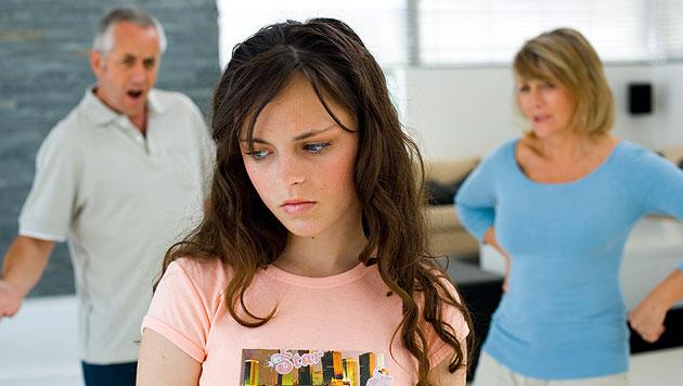 Wie du Streit in der Familie in den Griff bekommst (Bild: thinkstockphotos.de (Symbolbild))