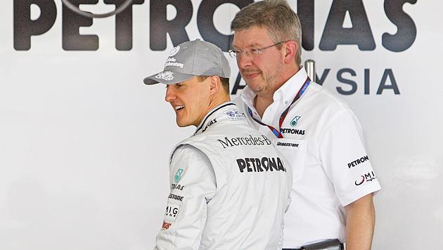 Brawn weist Gerüchte zu Formel-1-Posten zurück (Bild: EPA)