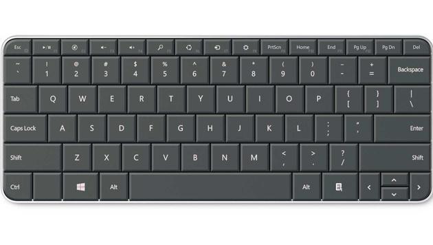 2-Finger-Maus und Tablet-Tastatur von Microsoft im Test (Bild: Microsoft)