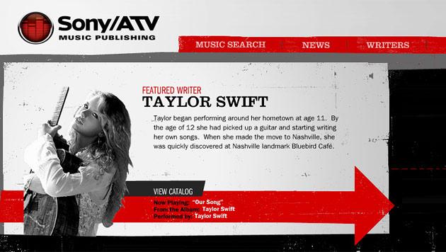 Sony-Musikverlag bremst Apples Internetradio aus (Bild: Screenshot sonyatv.com)