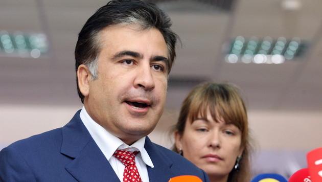 Michail Saakaschwili, ehemaliger Präsident der einstigen Sowjetrepublik Georgien (Bild: EPA)