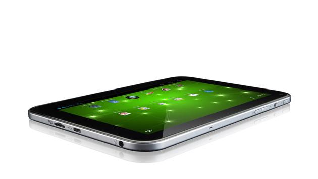 Klein, leistungsstark und leider teuer: Toshibas AT270 (Bild: Toshiba)