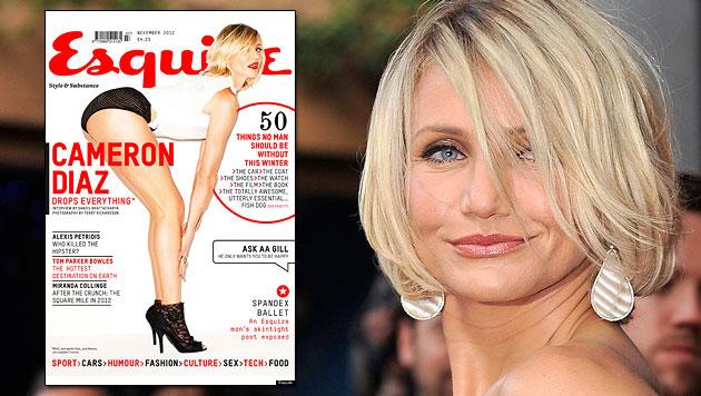 """Cameron Diaz: """"Fühle mich jetzt sexyer als mit 25!"""" (Bild: Esquire, EPA)"""