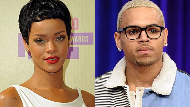 Rihanna und Chris Brown knutschen wieder (Bild: dapd)
