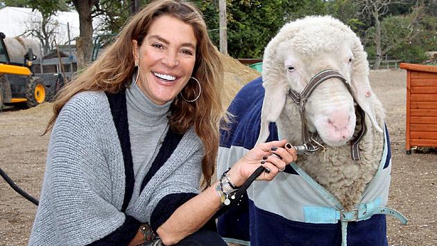 """Welttierschutztag: Fiona besucht ihr """"Patenkind"""" (Bild: Kristian Bissuti)"""