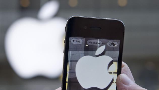Apple überholt Google auf dem US-Smartphonemarkt (Bild: Lukas Barth/dapd)