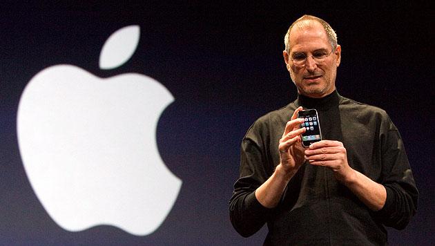 So hat Apple-Gründer Steve Jobs die Welt verändert (Bild: EPA)