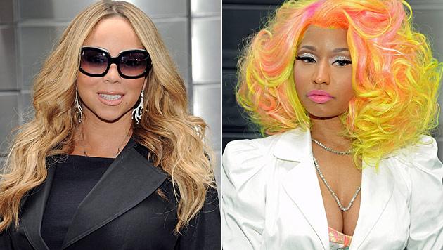 "Mariah Carey: ""Nicki Minaj will mich erschießen"" (Bild: AP, dapd)"
