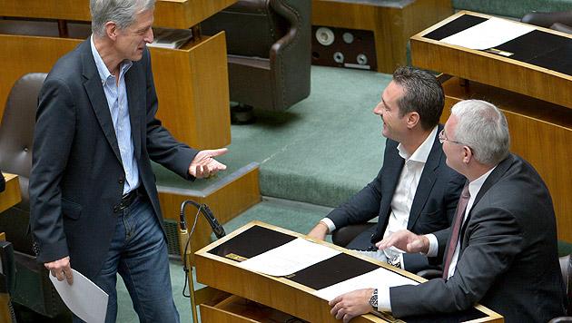 """U-Ausschuss ist Geschichte, """"Fair Tax"""" des BZÖ auch (Bild: APA/ROLAND SCHLAGER)"""