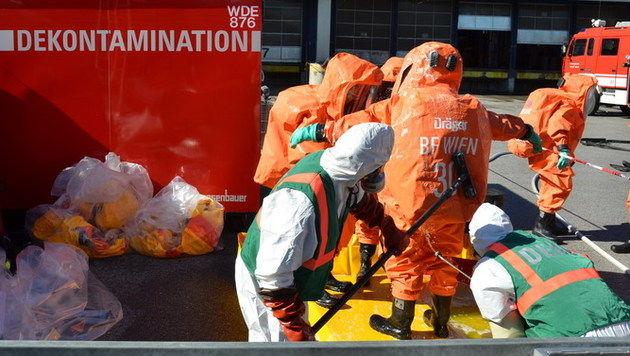 Doppelter Chemie-Alarm in Wien und NÖ: 36 Verletzte (Bild: MA 68 Lichtbildstelle)