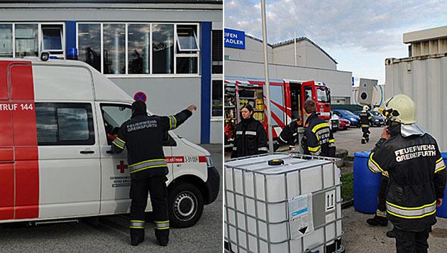21 Menschen bei Chemieunfall in NÖ verletzt (Bild: BSB Philipp Gutlederer/BFK Amstetten)