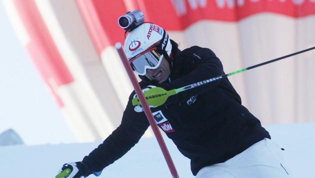 Helmkamera für Skistars: FIS plant große Neuerung (Bild: Sepp Pail)