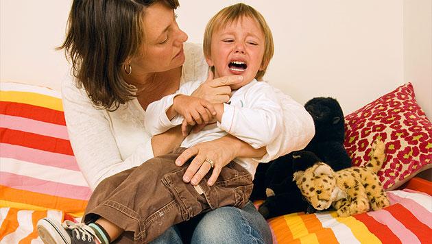 Hilfe, mein Kind will nicht in den Kindergarten! (Bild: thinkstockphotos.de (Symbolbild))