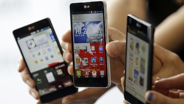LG punktet mit aufpolierter Smartphone-Sparte (Bild: dapd)