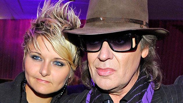 """Udo Lindenberg und Tine Acke : """"Ja, es ist Liebe!"""" (Bild: dapd)"""