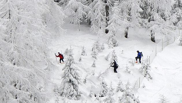 Zwei Tourengeher in OÖ nach Nacht am Berg gestorben (Bild: APA/ROBERT PARIGGER (Symbolbild))