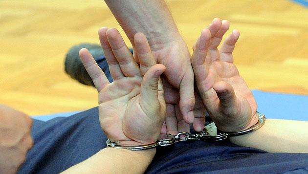Bande mit drei Kilo Kokain auf Raststation gefasst (Bild: APA/HERBERT PFARRHOFER)