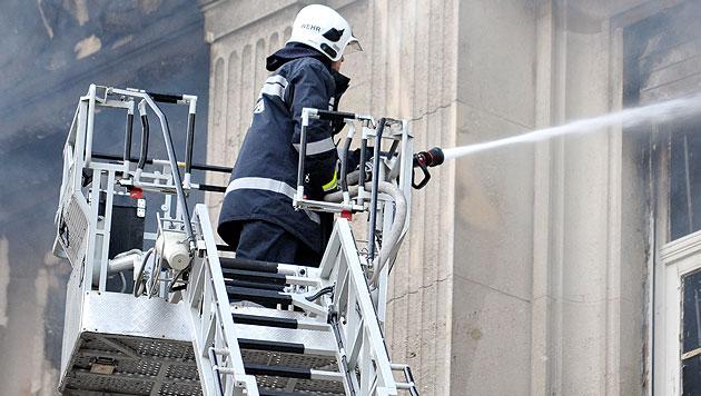 Feuerwehr: Mehr Einsätze, aber weniger Mitglieder (Bild: APA/HERBERT NEUBAUER)