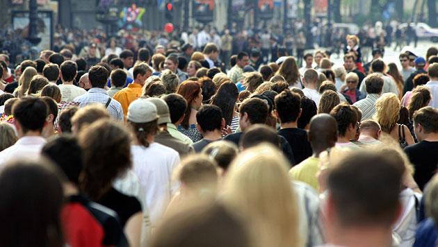In Österreich leben gut 8,5 Millionen Menschen (Bild: thinkstockphotos.de (Symbolbild))
