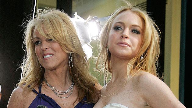 Lindsay Lohan: Offenbar Prügelei mit eigener Mutter! (Bild: dapd)