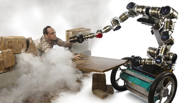 """""""MacGyver""""-Robo soll Gegenstände klug einsetzen (Bild: Georgia Institute of Technology)"""