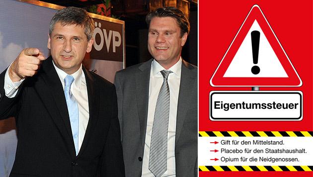 """Neue Partei-Fibel der ÖVP attackiert """"Neidgenossen"""" (Bild: APA/BARBARA GINDL, ÖVP)"""