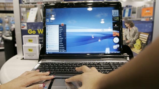 PC-Markt schrumpft vor Start von Windows 8 stark (Bild: dapd)