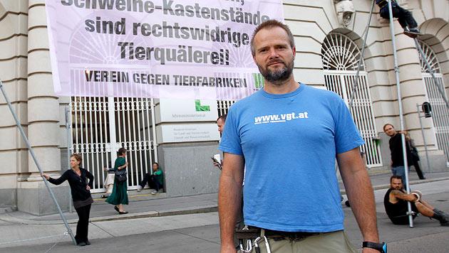 Martin Balluch (Bild: APA/GEORG HOCHMUTH)