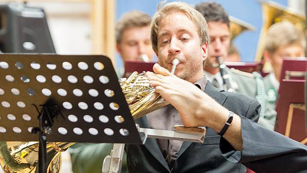 Salzburg: Armloser Hornist eroberte Herzen im Sturm (Bild: Bundesheer/Helmut Harringer)