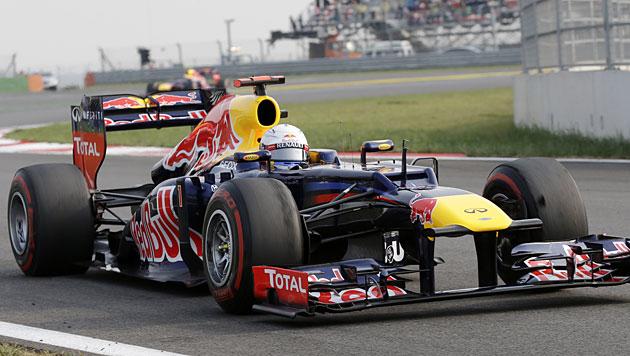 Vettel gewinnt GP von Korea und holt WM-Führung (Bild: dapd)