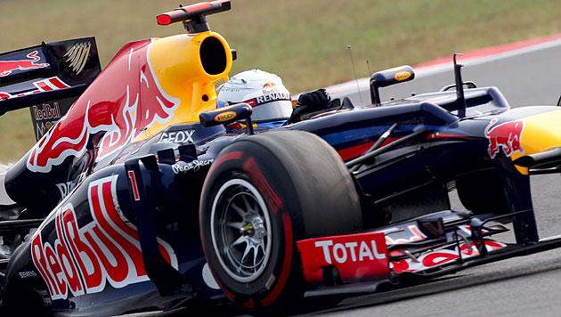 Vettel gewinnt GP von Korea und holt WM-Führung (Bild: EPA)