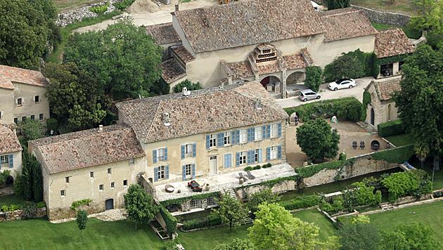 Das südfranzösische Chateau Miraval (Bild: dapd)