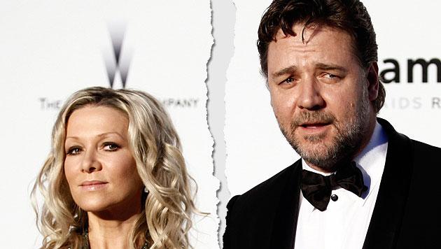 Russell Crowe und seine Frau Danielle Spencer getrennt (Bild: dapd)
