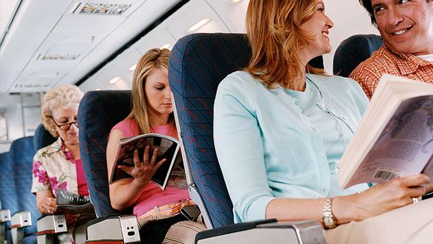 So schützt du dich im Flugzeug vor Erkältungen (Bild: thinkstockphotos.de (Symbolbild))