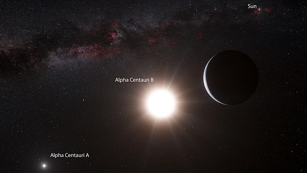 """""""Zweite Erde"""" bei Nachbarstern der Sonne entdeckt? (Bild: ESO)"""