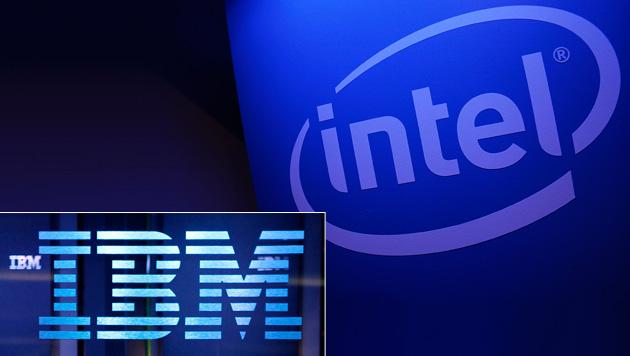 Geringe Nachfrage macht Intel und IBM zu schaffen (Bild: AP, krone.at-Grafik)