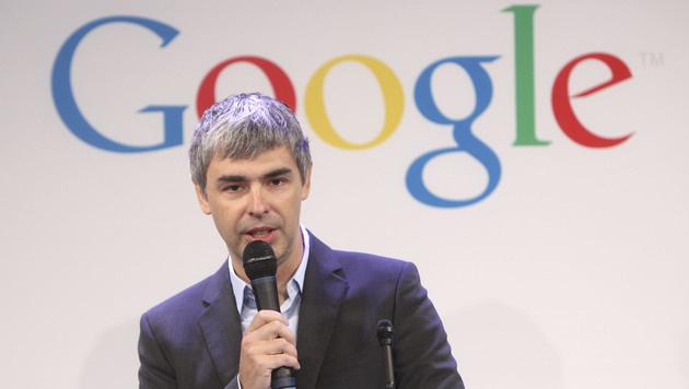 Google-Chef Page verteidigt neue Datenschutz-Regeln (Bild: AP)