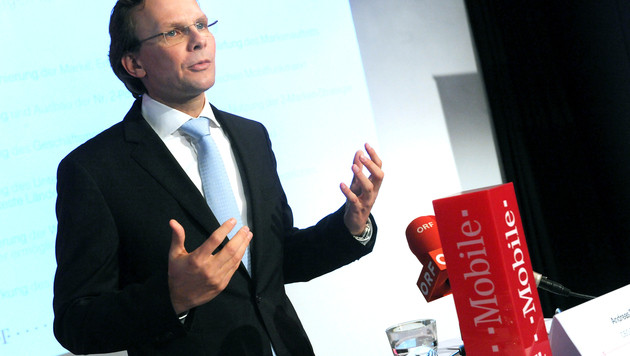 Neuer T-Mobile-Chef will Preise an Kosten anpassen (Bild: APA/HERBERT PFARRHOFER)