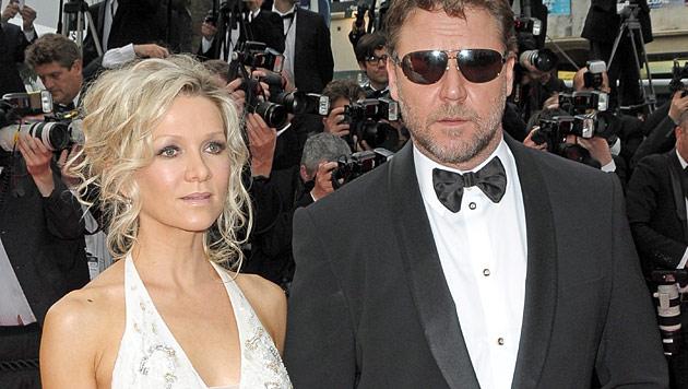 Russell Crowe: Schwiegervater bedauert Trennung (Bild: EPA)
