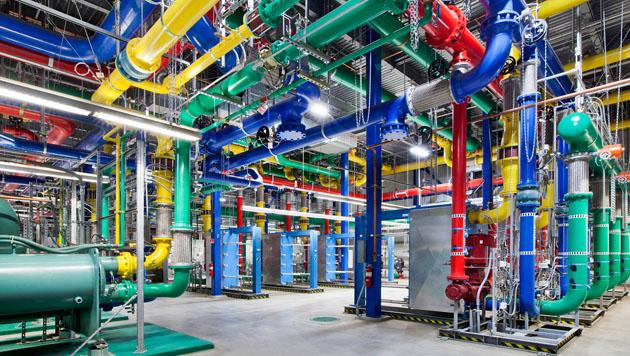 Google gewährt erstmals Einblick in Rechenzentren (Bild: Google)