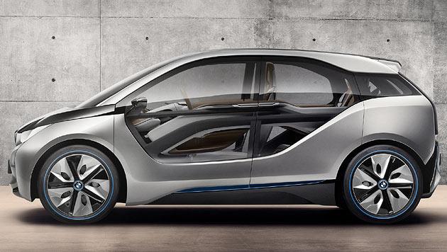 So strickt BMW Leichtbauteile aus Karbonfaser-Restln (Bild: BMW)
